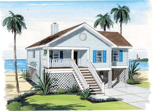 coastal house plans | monster house plans