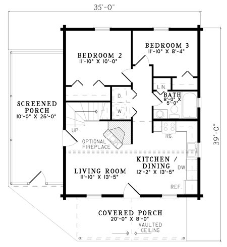 Log Cabin Style House Plans - Results Page 1
