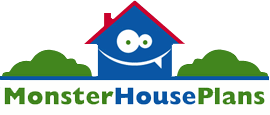 Monster House Plans Logo