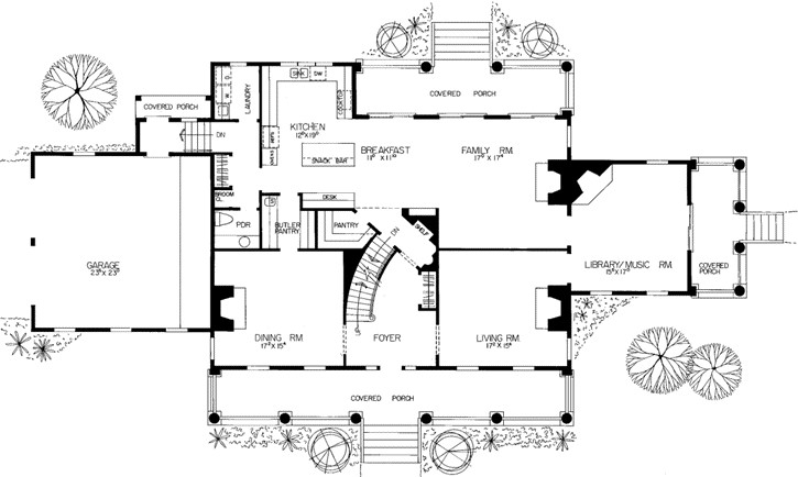 Plantation House Plans Monster