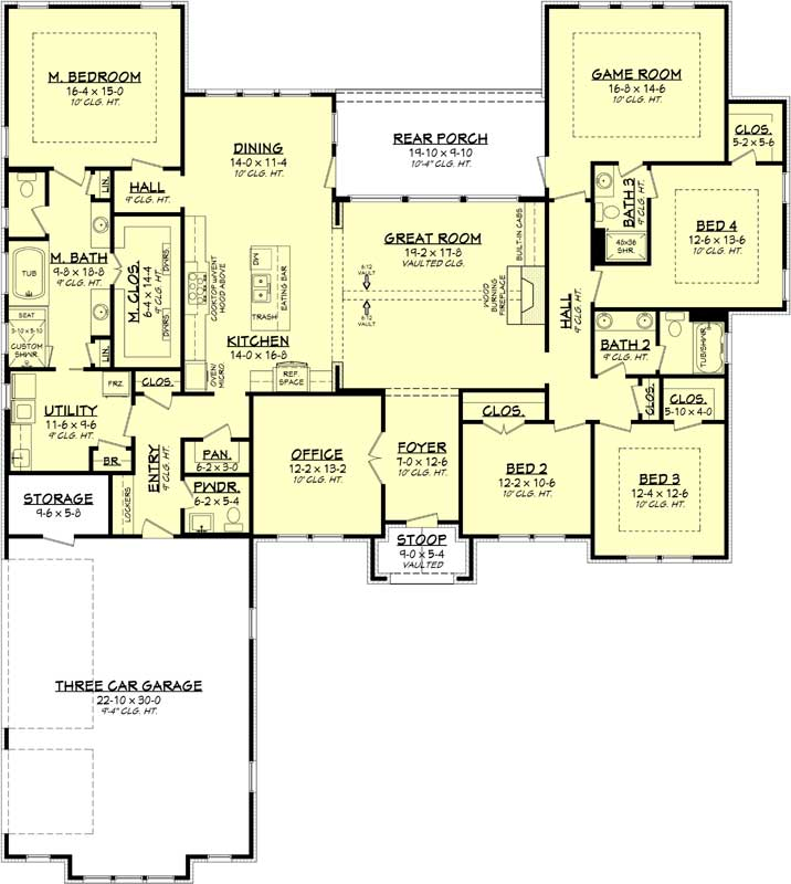 Ranch House Plans | Find Your Perfect Ranch Style House Plan! on ranch style house plans with open floor plan, new ranch home style, new ranch home construction, new construction home floor plan, new ranch house plans,