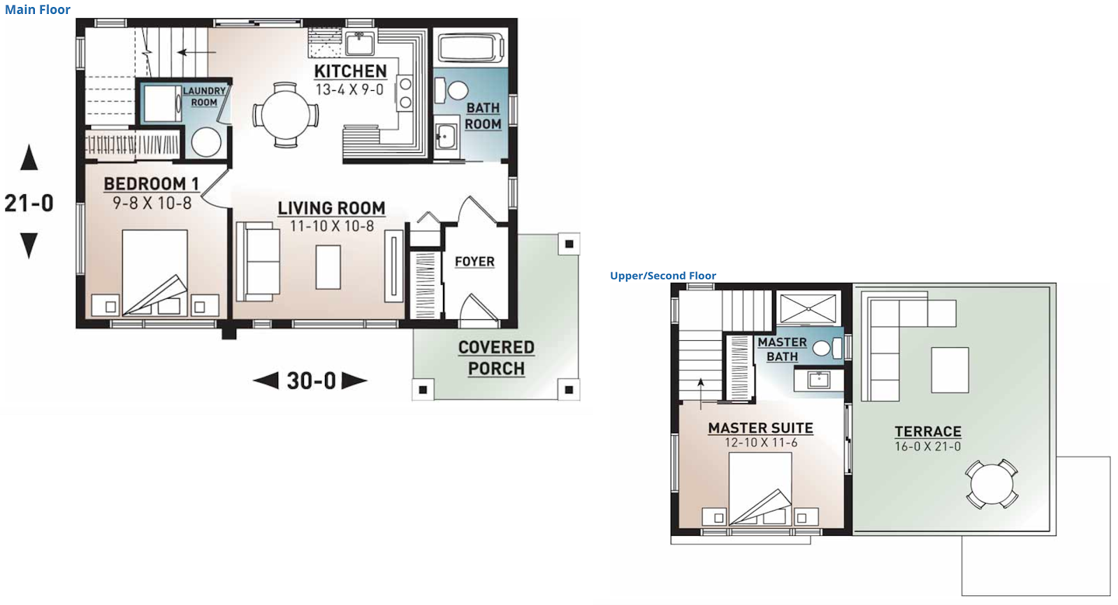 Small Home Interior Floor Plan