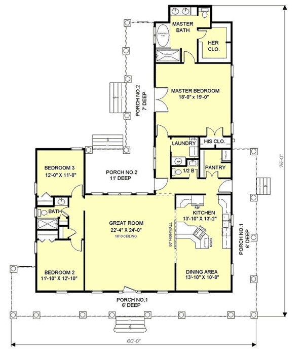 interior floor plan home design