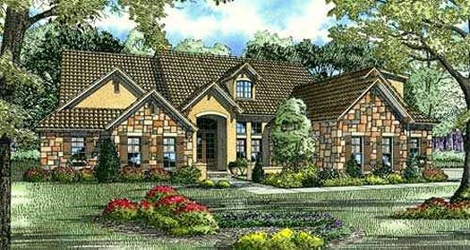 Tuscan home exterior design