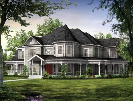 Victorian exterior home design