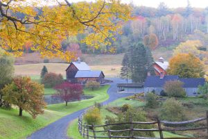 A nostalgic American landscape makes for the ultimate autumn landscape