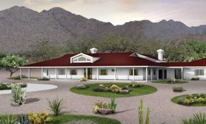 Early Ranch style homes evolved into the more modern split-level.