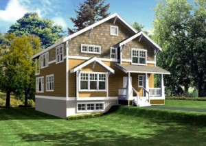 House Plans  Basements on This Plan Is A Daylight Basement  But Not A Walk Out Basement